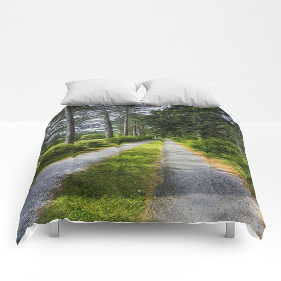 Country Path Walks Comforters