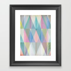 Nordic Combination 8 Framed Art Print