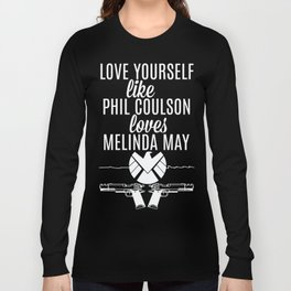 Love Yourself Like - Phil Coulson & Melinda May - Agents Of SHIELD Long Sleeve T-shirt