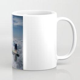 Lancaster Bomber and Spitfires Coffee Mug