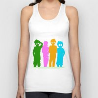 homestuck Tank Tops featuring Homestuck Alpha Kids by Crimsonreaper67