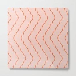 Minimal waves #541 Metal Print