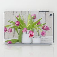 tulips iPad Cases featuring Tulips by LebensART Photography