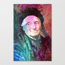 The wise woman Canvas Print