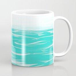 Sailing Across A Turquoise Sea Coffee Mug
