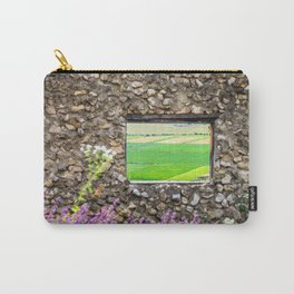 Window on a Transylvanian Meadow Carry-All Pouch