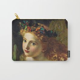 Take the Fair Face of Woman, and.... - Sophie Anderson Carry-All Pouch