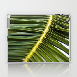 Green Palm-Leafes of Sicily Laptop & iPad Skin