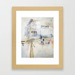 YEP, wafers. Framed Art Print