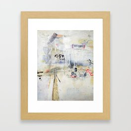 YEP, wafers. Framed Art Print