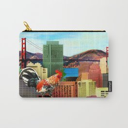 San Francisco City Chicken Carry-All Pouch