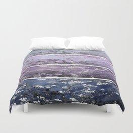 Vincent Van Gogh : Almond Blossoms Panel Art Dark Blue Purple Lavender Duvet Cover