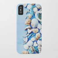 shells iPhone & iPod Cases featuring SHELLS by Ylenia Pizzetti
