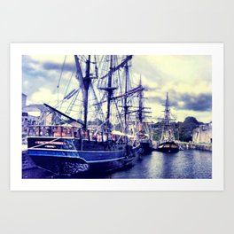 CHARLESTOWN Art Print