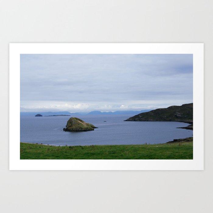 Skye Island 3 Art Print