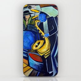 The Jam Session iPhone Skin