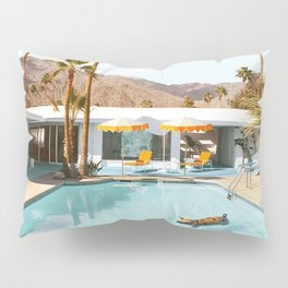 Pig Pool Party Pillow Sham