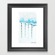 raincloud Framed Art Print