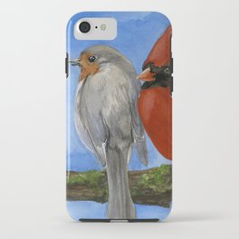 Birds on a Branch iPhone Case