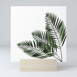 Tropical Exotic Palm Leaves I Mini Art Print