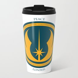 The Jedi Code Metal Travel Mug