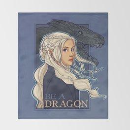 You're a Dragon Throw Blanket