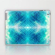 Hawaiian Oceanic Flower Of Life Laptop & iPad Skin
