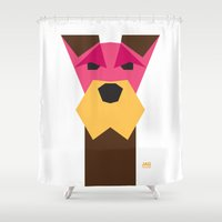 schnauzer Shower Curtains featuring Miniature Schnauzer by Page 84 Design