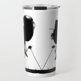 The Letter V Travel Mug