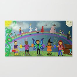 The Magic of Reading Canvas Print