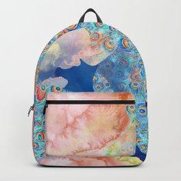 Peacock Pattern 14 Backpack