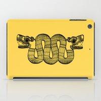 aztec iPad Cases featuring Aztec by Estelle F