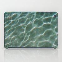 pool iPad Cases featuring Pool by Marta Bocos