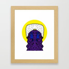 Gemini Goddesses Framed Art Print