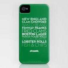 Boston — Delicious City Prints Slim Case iPhone (4, 4s)