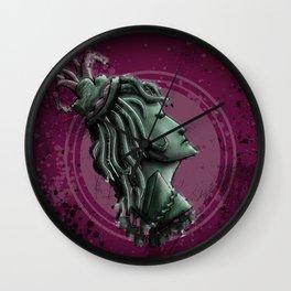 Lady of War Wall Clock