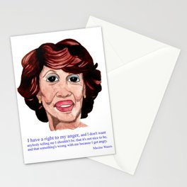 I Have a Right to My Anger: Maxine Waters Stationery Cards