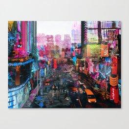 Sweet City Canvas Print