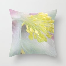 Summer Fleur Throw Pillow