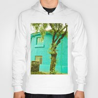 colombia Hoodies featuring COLOMBIA BOGOTA TYPICAL HOUSE by Alejandra Triana Muñoz (Alejandra Sweet