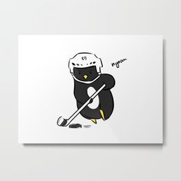 sidney crosby action shot Metal Print