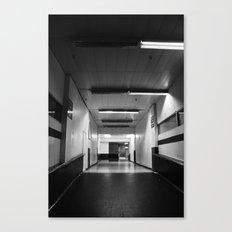 Preston Bus Station Canvas Print