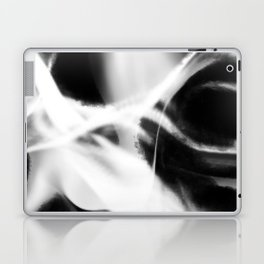 Neuron - Black and White Abstract Laptop & iPad Skin