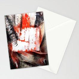 Trame Orange Stationery Cards