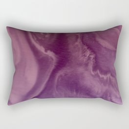 Watercolors purple and pink.Abstract Painting Rectangular Pillow