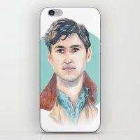 vampire weekend iPhone & iPod Skins featuring Ezra Koenig, Vampire Weekend by Megan Diño