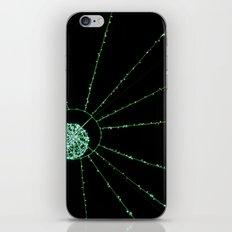 green web iPhone & iPod Skin