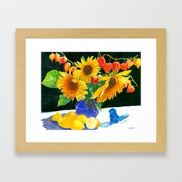 Lemonade Anyone? Framed Art Print
