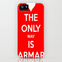 The Only Way Is Marmaris iPhone Case