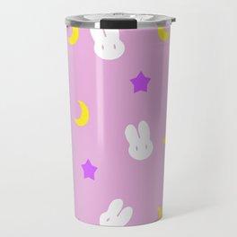Usagi Print Travel Mug